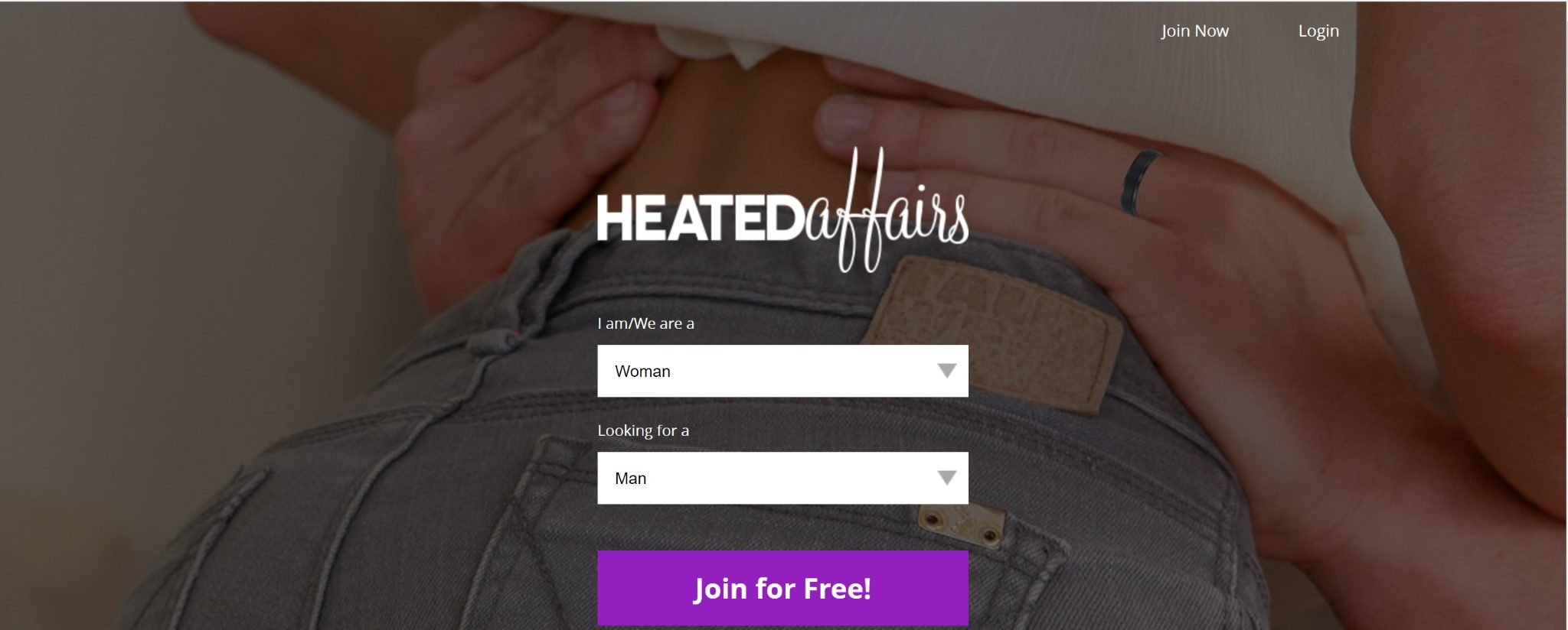 Quick and easy sign-up